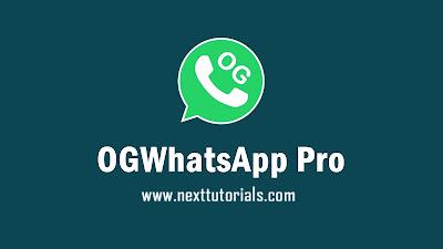 Download OGWhatsApp Pro v9.0 Latest Version 2020 For Android,Aplikasi OGWA Pro v9.0 Anti-Banned Terbaru 2020,tema ogwhatsapp pro keren,whatsapp mod