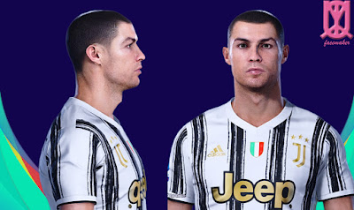 PES 2021 Faces Cristiano Ronaldo by Qiya