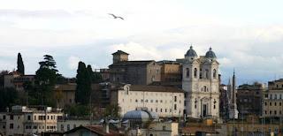Il convento di Trinità dei Monti