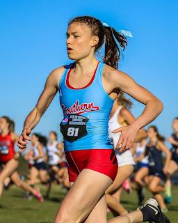Addison Cantor running