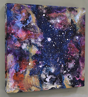 night skies and galactic painting