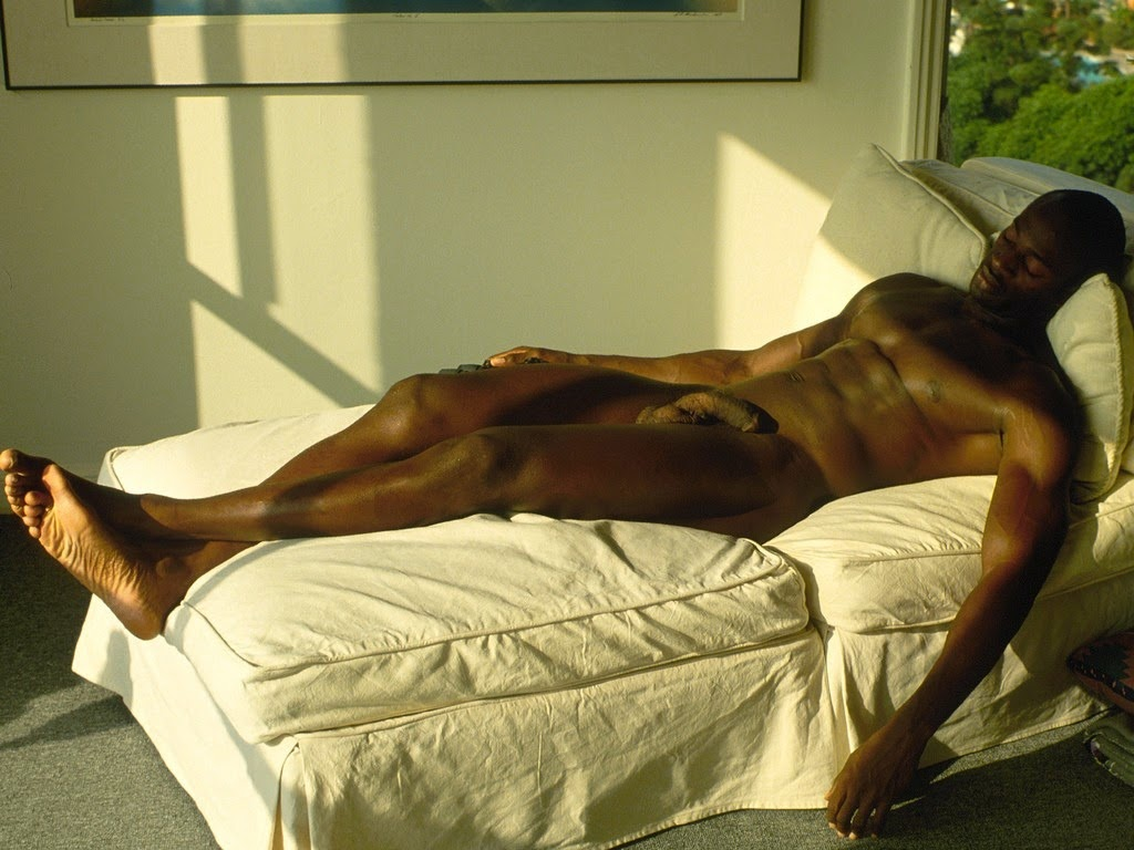 Naked Black African American Man
