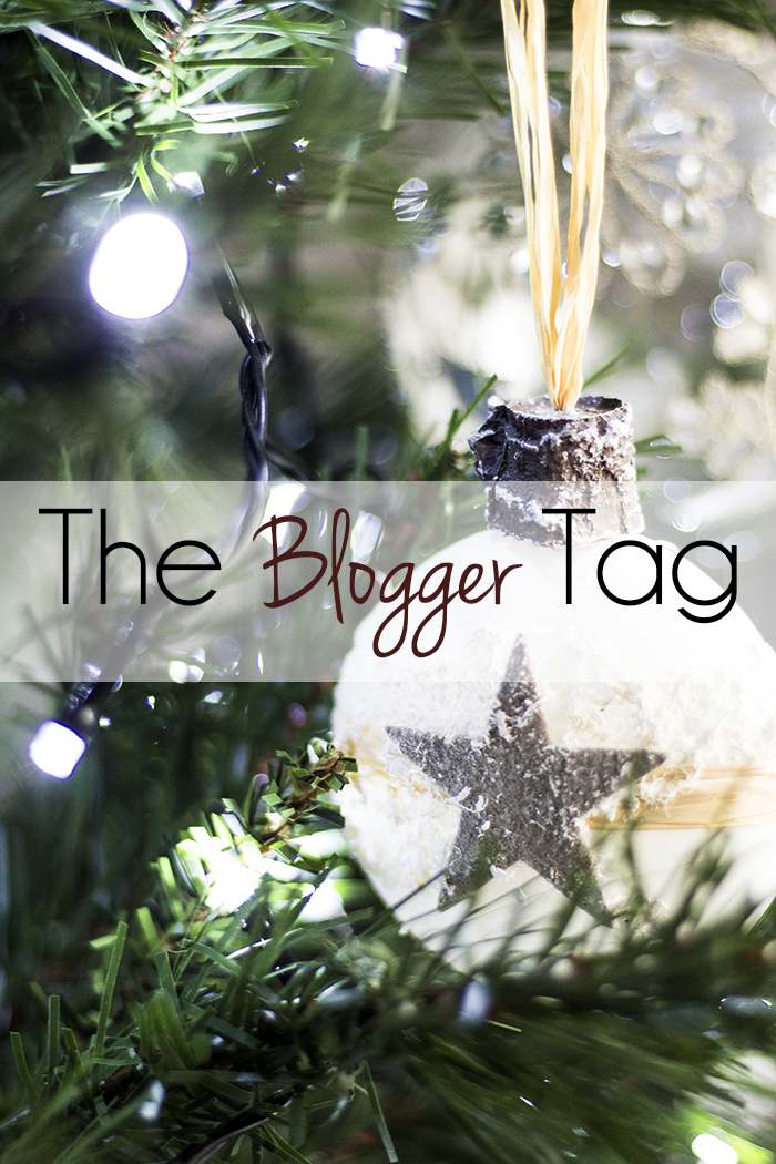 The Blogger Tag