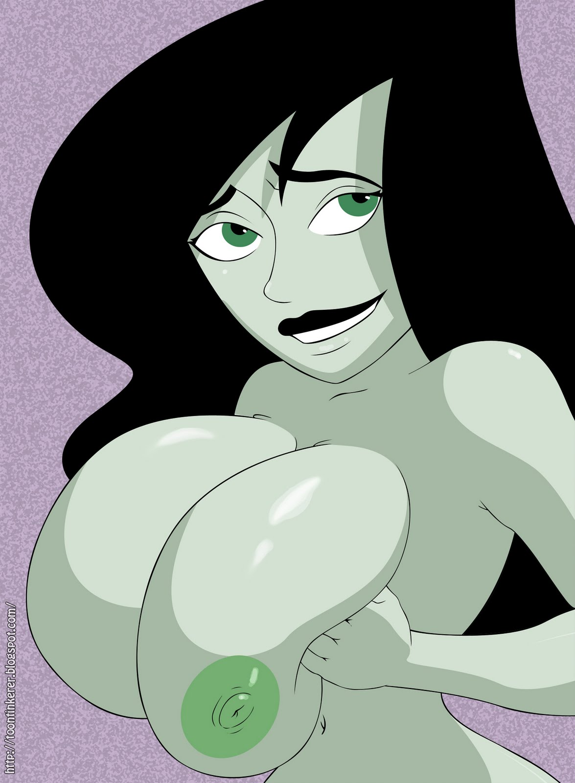 Remarkable, very kim possible shego tits