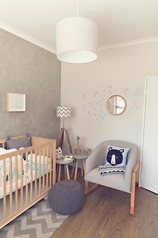 10 habitaciones para ni os decoradas con colores neutros - Habitaciones decoradas para ninos ...