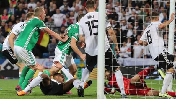 Highlights: Germany Ease Past Northern Ireland