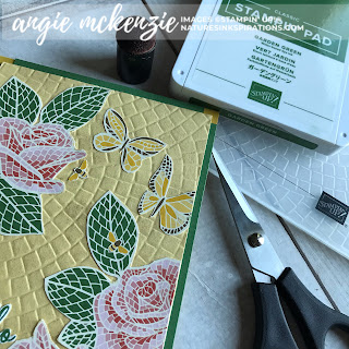 Fun with Fussy Cutting | SUPPLIES by Stampin' Up!® | Nature's INKspirations by Angie McKenzie