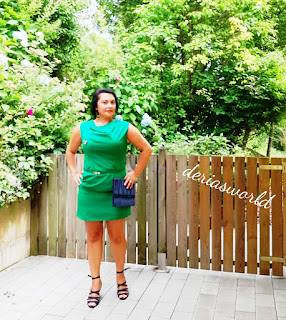 green dress-summer dress