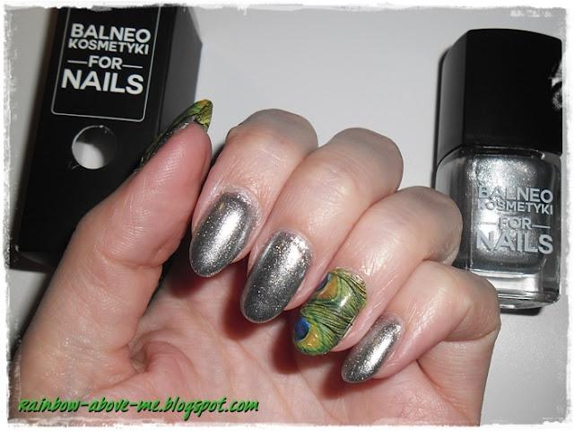 srebrny lakier balneo