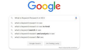 What is Keywords Research in SEO?