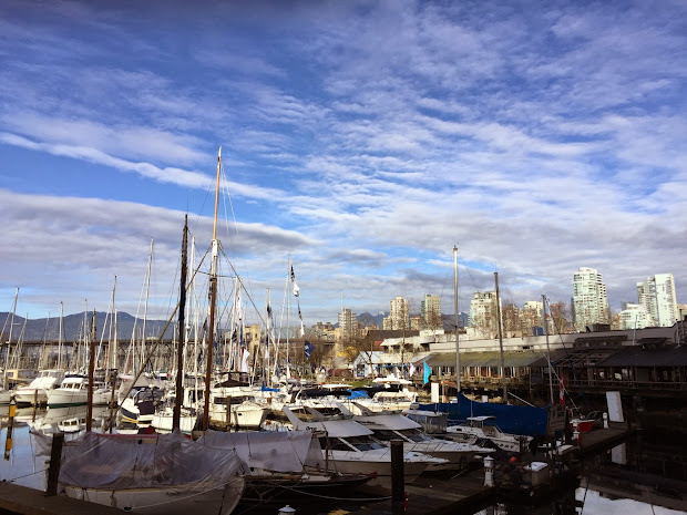 Beautiful Day Granville Island Vancouver Footnotes