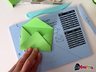 tavoletta per creare buste da lettera
