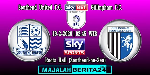 Prediksi Southend United vs Gillingham