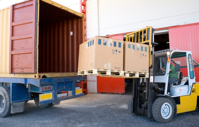 container unloading Melbourne
