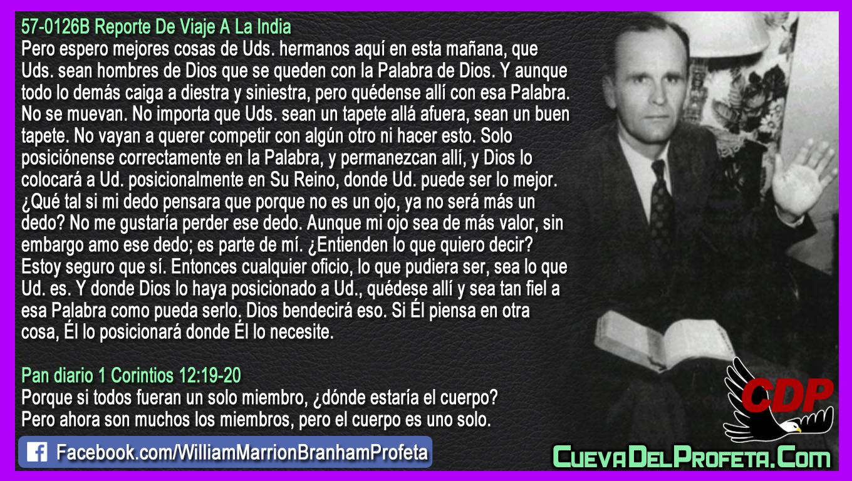 Sea tan fiel a esa Palabra como pueda serlo - William Branham en Español