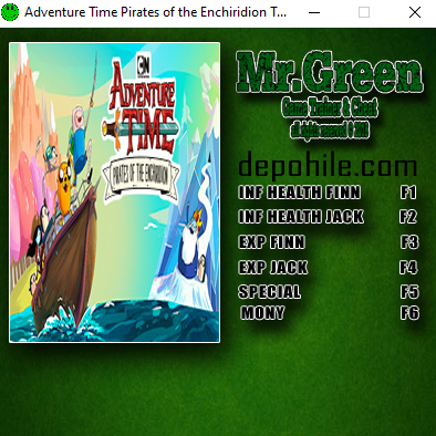 Adventure Time Pirates of the Enchiridion +6 Trainer Hilesi İndir