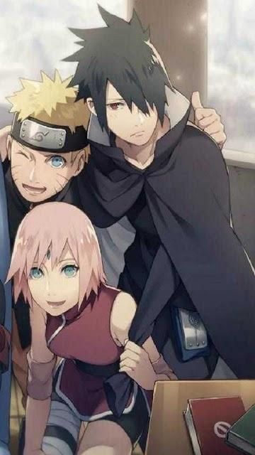 Gambar sasuke, sakura dan naruto
