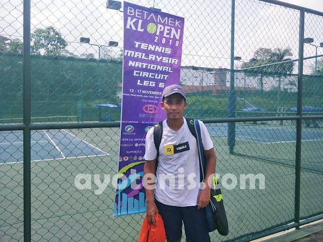 Ganyang Petenis Tuan Rumah, M Noor Iman Melenggang ke Final Kuala Lumpur Open Tennis Championship 2019