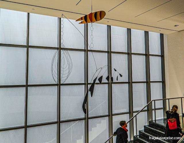 Móbiles de Alexander Calder no MoMA, Nova York