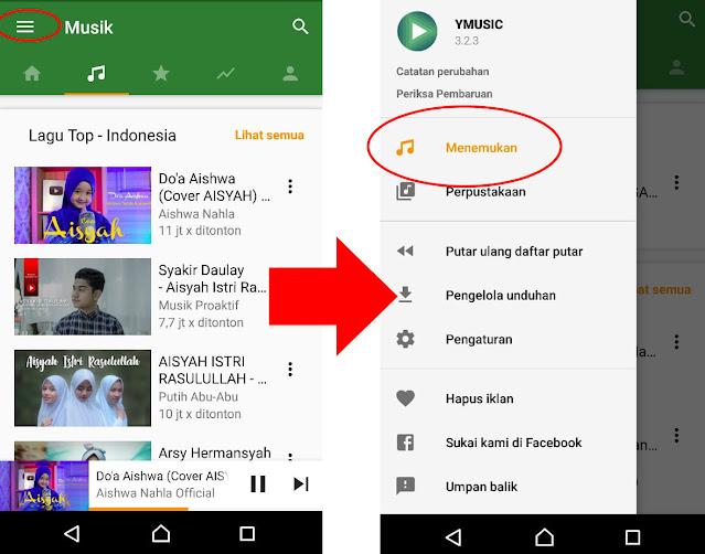 HYmasic bisa dengan suara Saja di Youtube