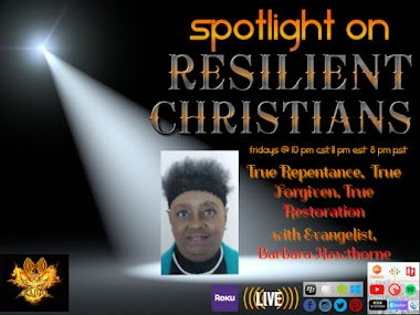 True Repentance, True Forgiveness, True Restoration with Evangelist Barbara Hawthorne