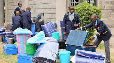 Form One reporting in the secondary schools. PHOTO  | RMS