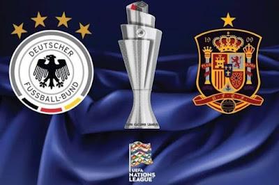 التشكيل الرسمي لمواجهة ألمانيا ضد إسبانيا في دوري الأمم الأوروبية