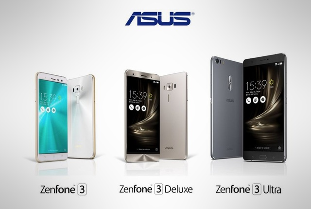 ASUS Zenfone 3 Unveiled at Computex, 3 Variants Announced