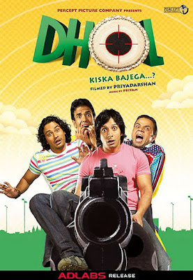 Download Dhol (2007) Hindi Full Movie BluRay 480p    720p