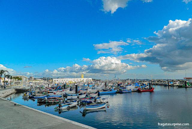 Porto pesqueiro de Setúbal, Portugal