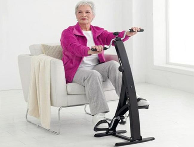 Sử dụng xe đạp tập phục hồi chức năng để đạt hiệu quả tốt hơn