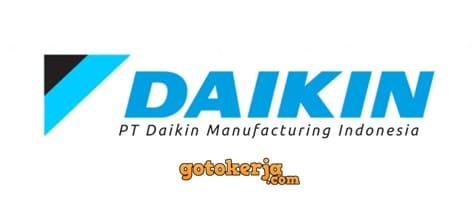 Lowongan Kerja PT Daikin Airconditioning Indonesia