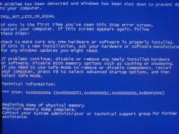 Cara Mengatasi Blue Screen Sedikit Ilmu Tentang Tkj
