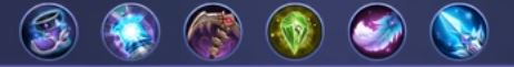 build guinevere tersakit ala lemon mobile legend pro player maniac