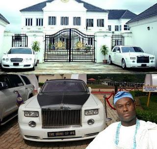 Richest King In Nigeria Cars & Net worth