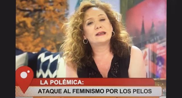 Cristina Fallarás responde al tuitero que enseña a las feministas a afeitarse