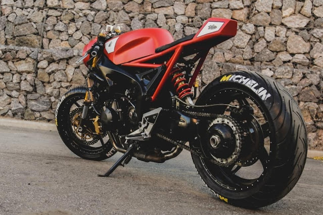 Yamaha FZ6 2009 By Lucky Custom Hell Kustom
