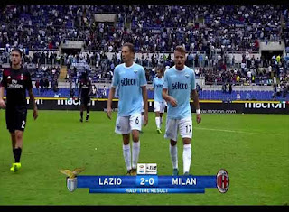 Lazio Vs AC Milan 4-1 Lega Serie A 2017