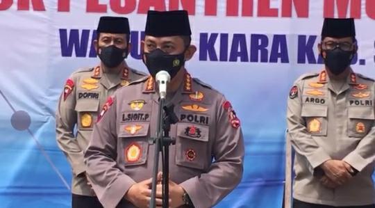Perintah Baru Kapolri: Jangan Reaktif Amankan Aksi di Tengah Kunker Jokowi