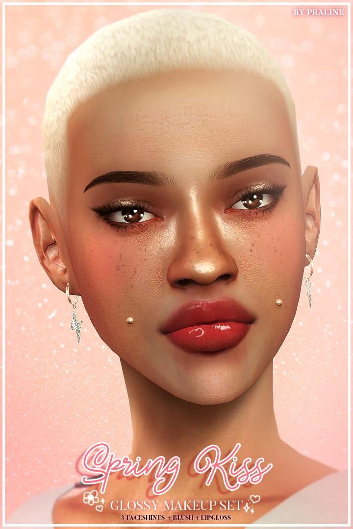 SPRING KISS Glossy Makeup Set