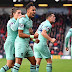 Arsenal defeat 10-man Watford, move into top four