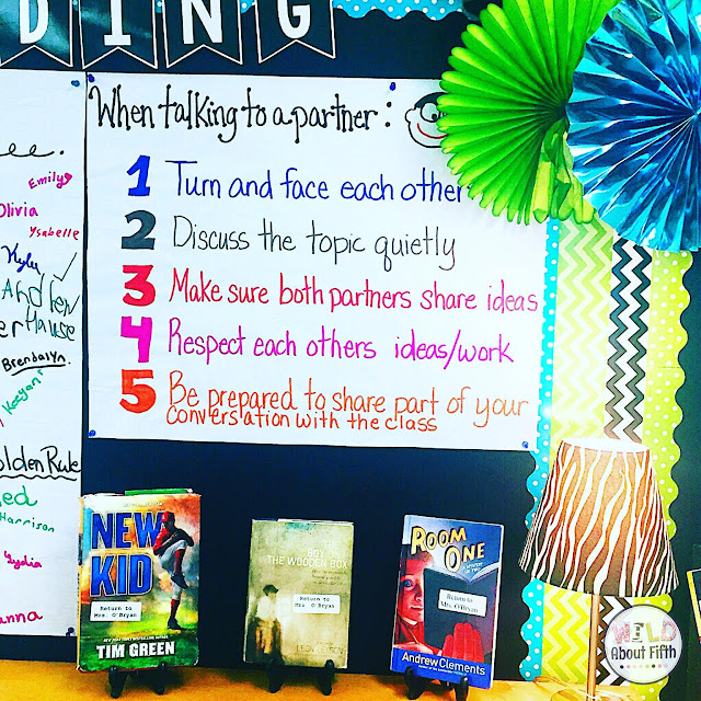 Partner Talk Accountability Anchor Chart