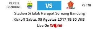 Tiket Persib vs TNI Hanya untuk Masyarakat Umum dan Pendukung PS TNI