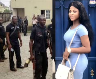 You no get sense, God will punish you  Nigerian confront SARS officers