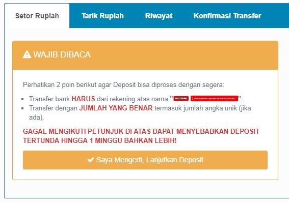 Deposit Bitcoin di Alfamart
