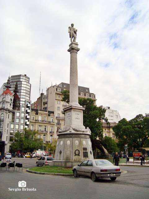 Monumento al General Lavalle - Plaza Gral. Lavalle - Buenos Aires