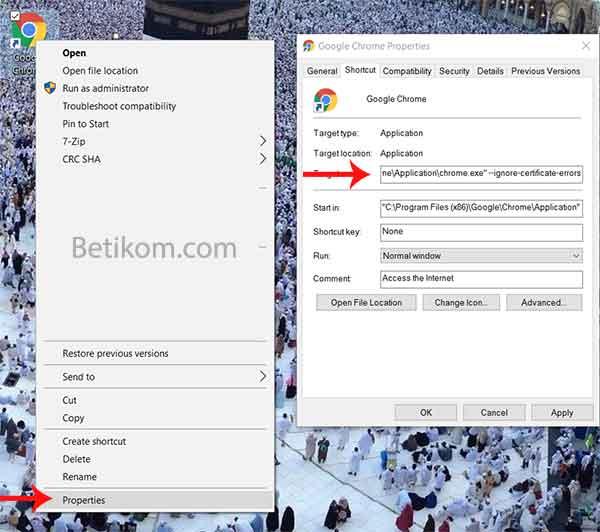 Cara memperbaiki SSL error di google chrome