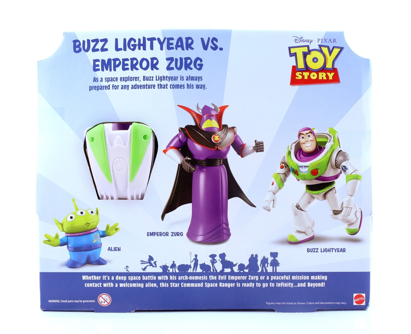 toy story zurg figure 3-pack