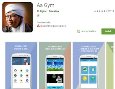 Aplikasi AA Gym