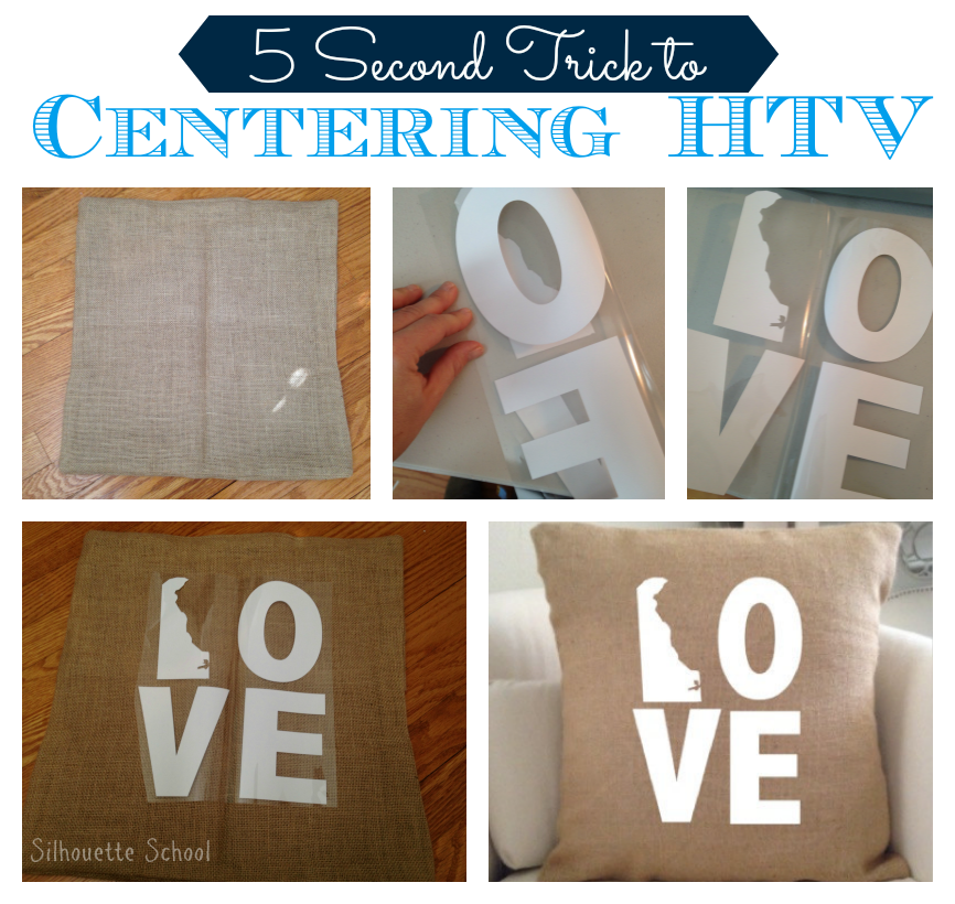 Silhouette crafters, heat transfer vinyl, HTV, center design